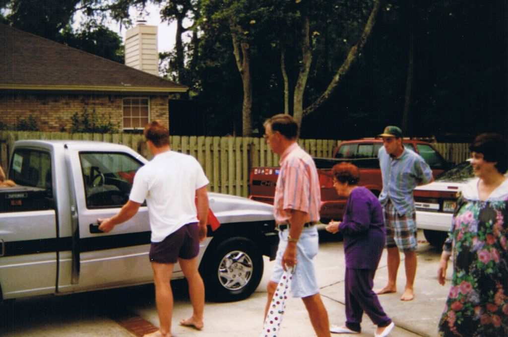 Father's Day 1996, Dad gets the Truck!